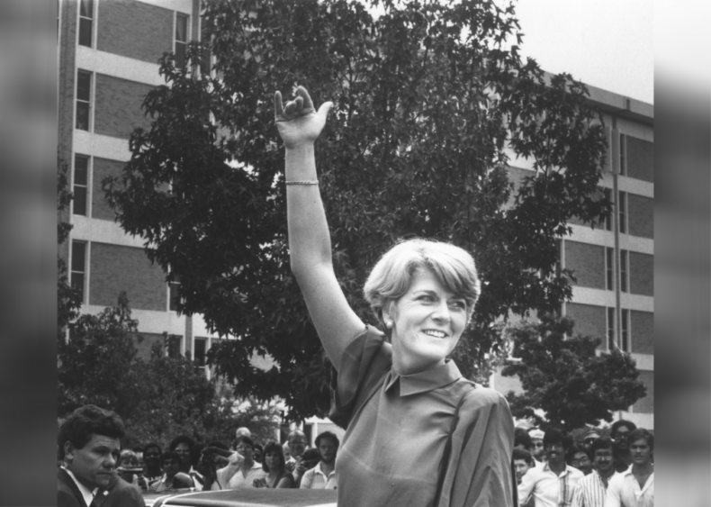 1984: First woman on a presidential ticket