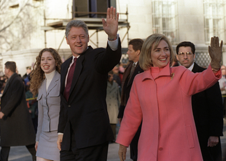 1996: First democratic second term since FDR