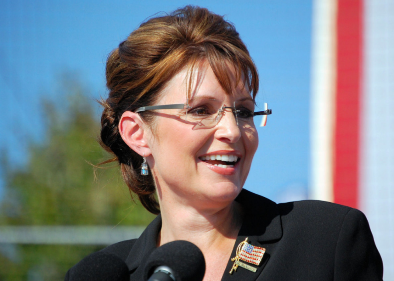 2008: First woman to run on Republican ticket