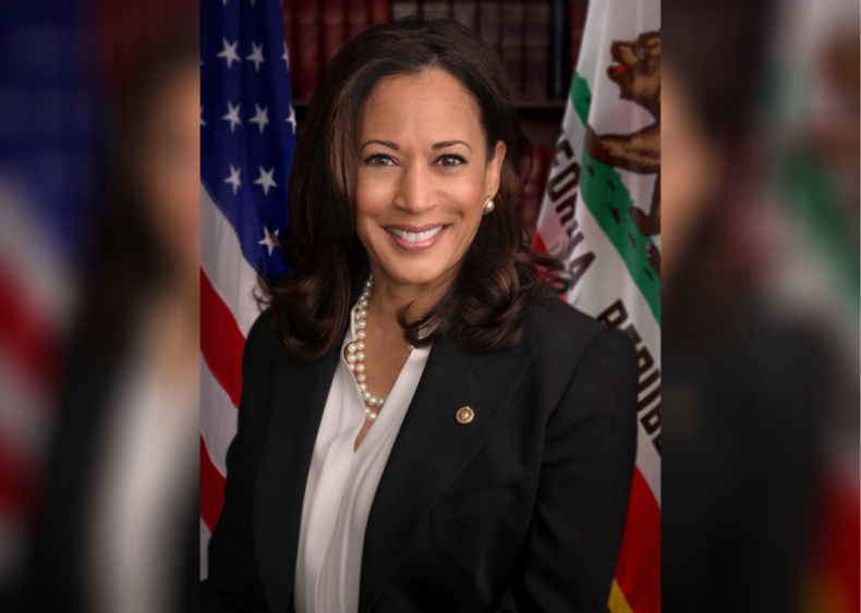 2020: First woman of color to be elected VP
