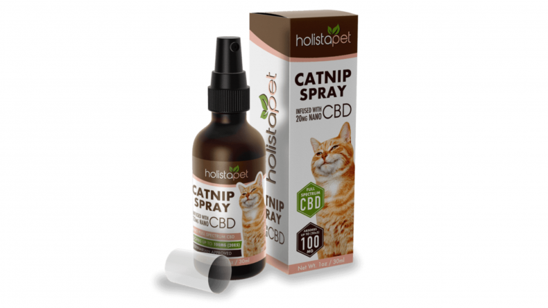 Holistapet CBD Catnip Spray