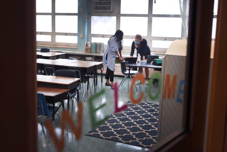 Classrooms prepare for covid