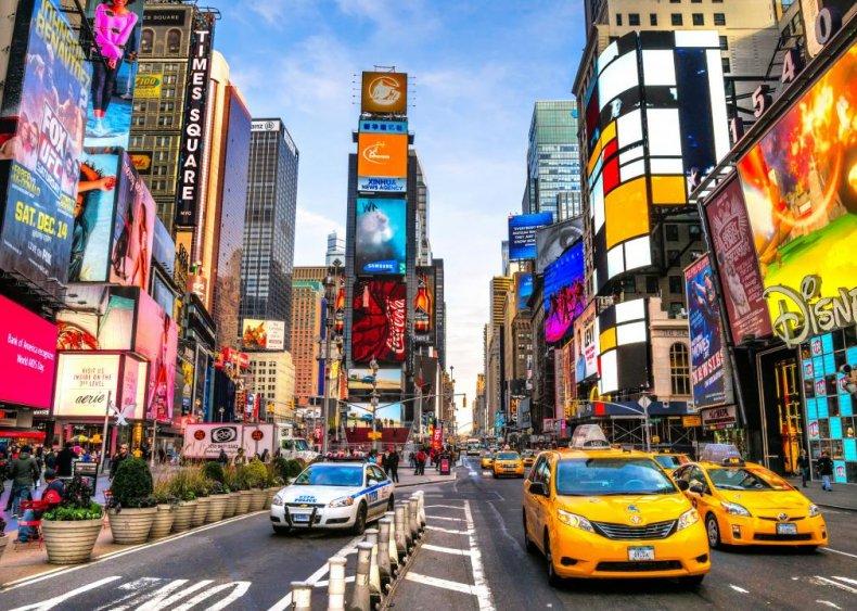 #3. New York, New York