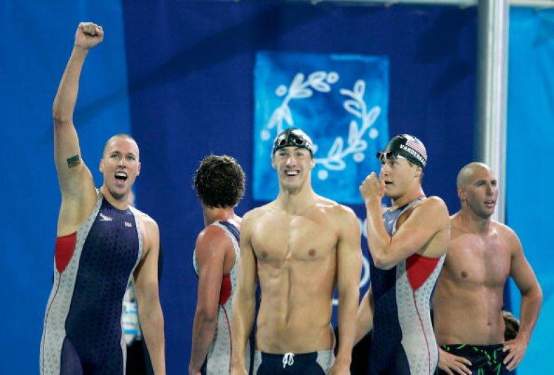 Klete Keller U.S. Olympic Swimmer