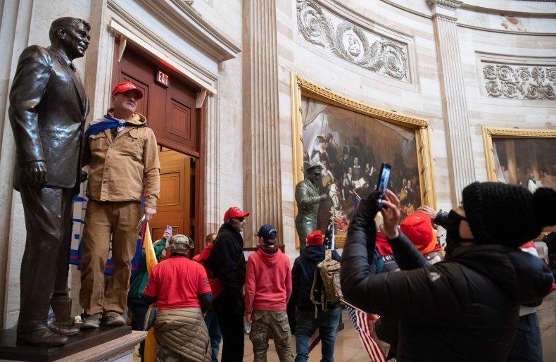 Capitol Trump Riot Antifa Poll
