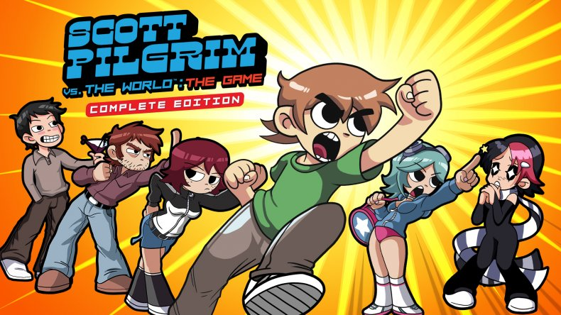scott pilgrim vs the world game art