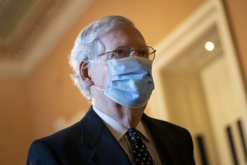 mitch mcconnell in the capitol
