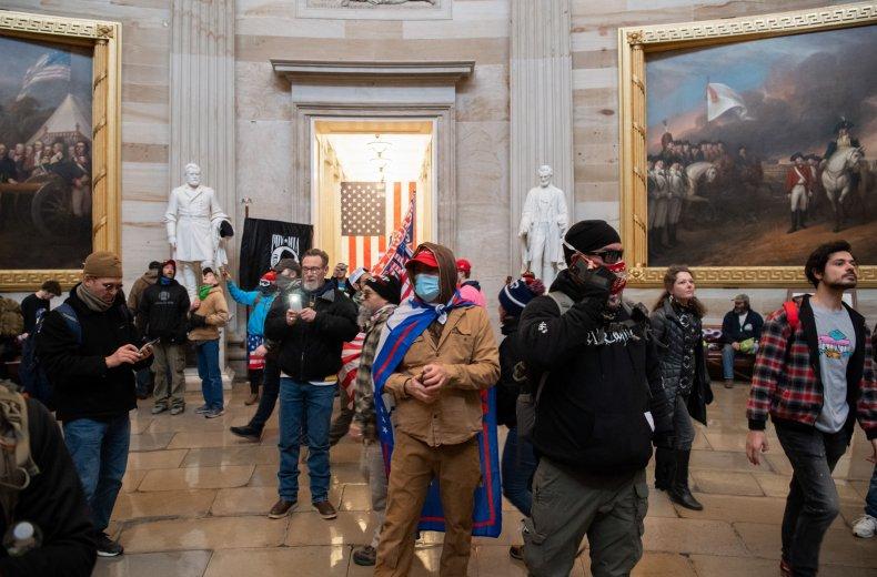 U.S. Capitol riots Washington, D.C.