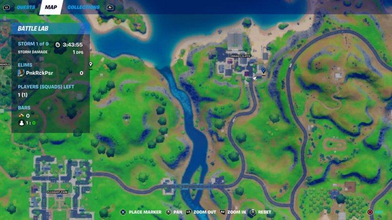 fortnite remedy location 1 map