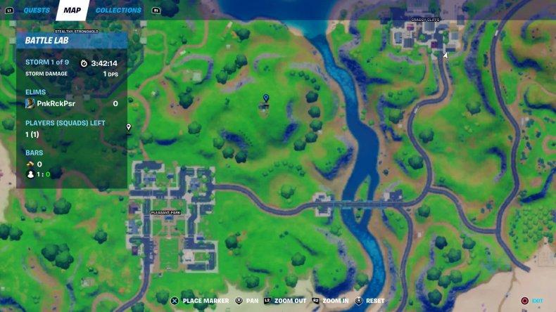 fortnite remedy location 2 map