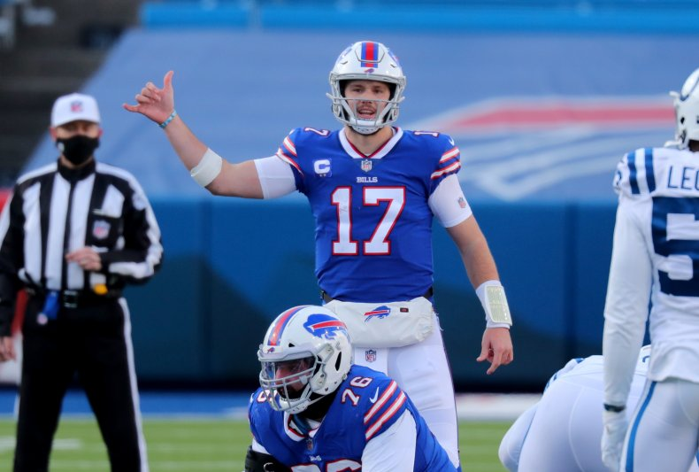 Josh Allen of the Buffalo Bills