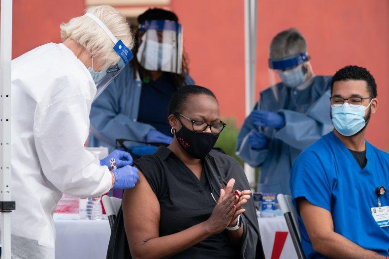 Georgia health worker COVID vaccine December 2020