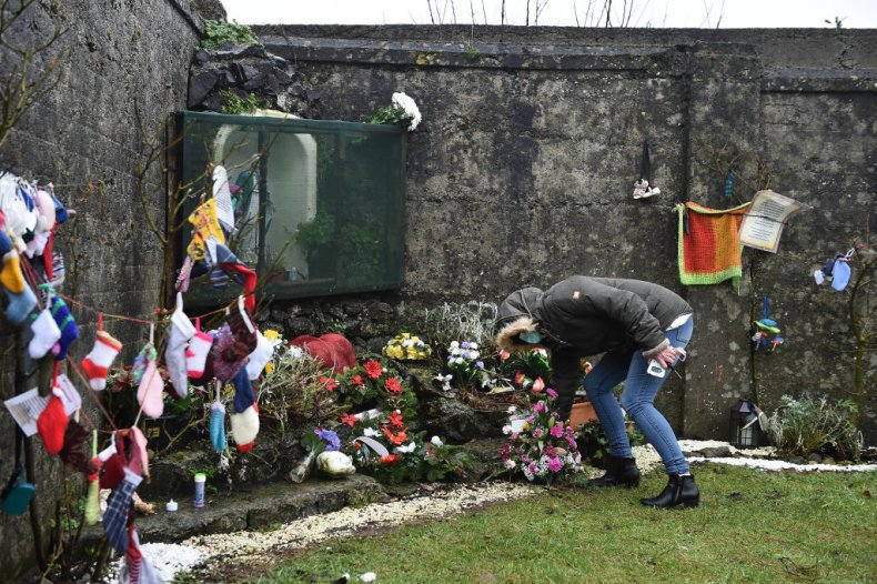 Mother and baby home mass grave Tuam