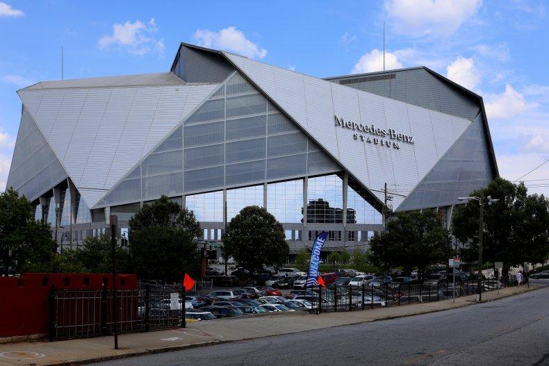 Mercedes-Benz Stadium Atlanta Georgia
