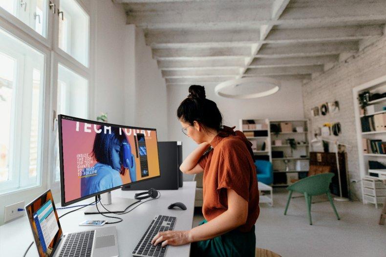 CES 2021 - Dell Monitor