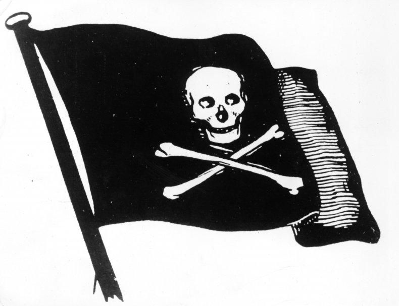 Jolly Roger Pirate Flag TikTok Sea Shanty