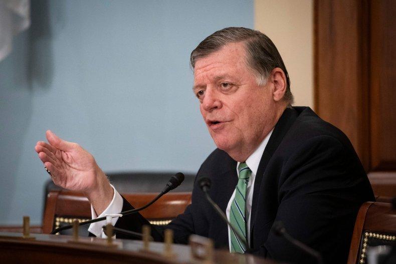 US-HEALTH-VIRUS-POLITICS-CONGRESS-HEARING Representative Tom Cole, a Republican from
