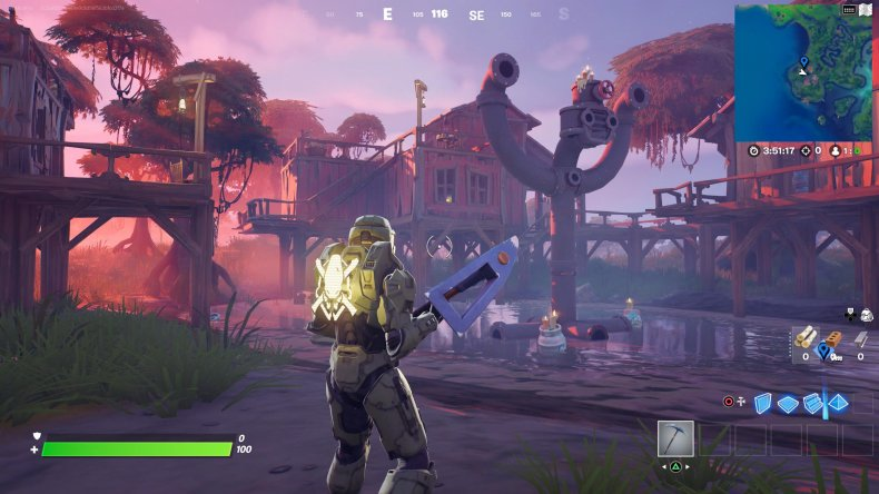fortnite visit slurpy swamp houses gameplay