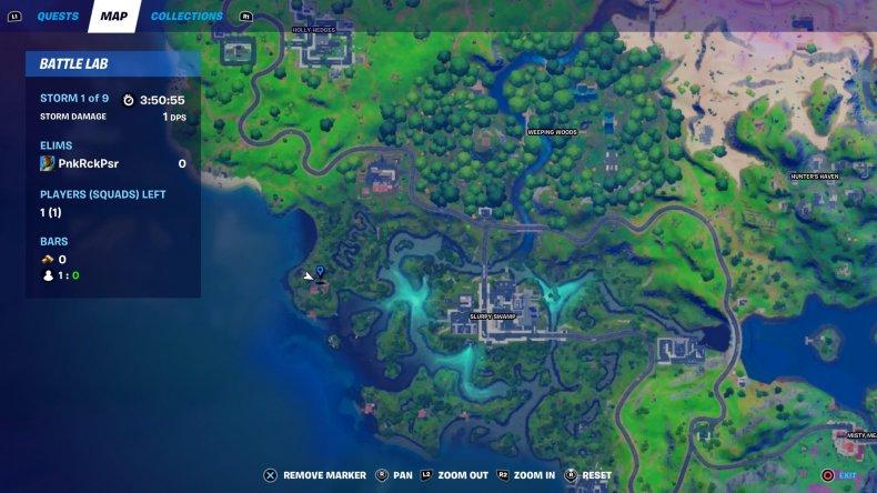 fortnite visit slurpy swamp houses map