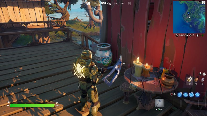 fortnite visit slurpy swamp houses slurp barrel