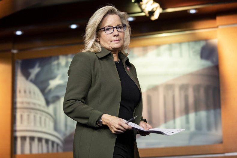 liz cheney dismisses GOP calls to resign