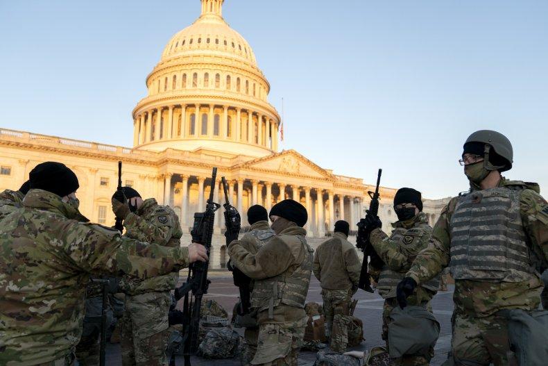 Washington, D.C. Prepares For Potential Unrest Ahead