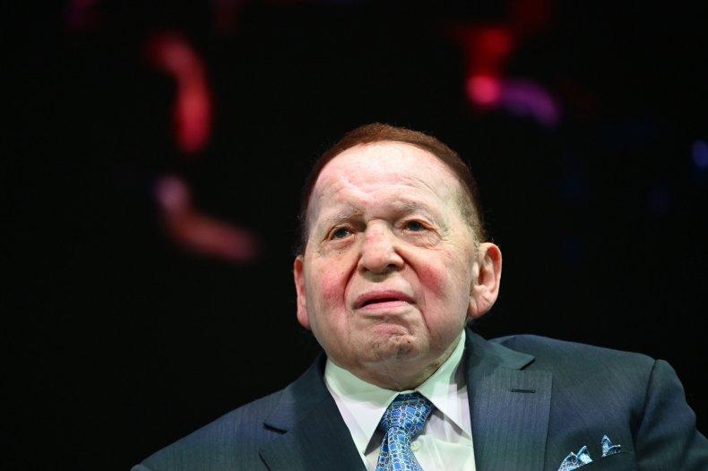 Sheldon Adelson, billionaire casino magnate, philanthropist and