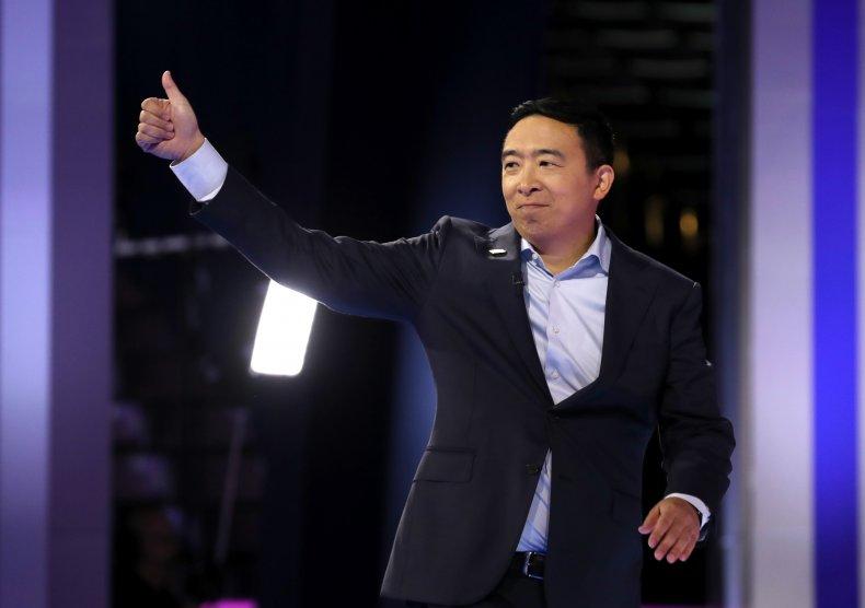 Andrew Yang New York Mayor announcement Twitter