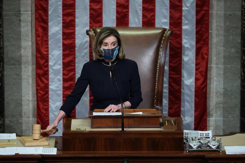 Pelosi House Fines Metal Detector Screening Insurrection