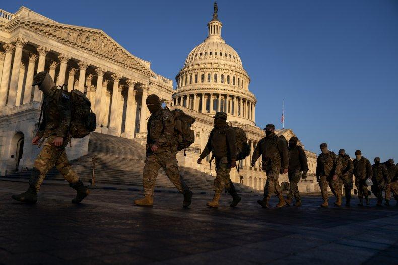 National Guard U.S. Capitol