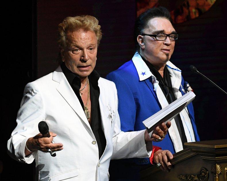 Siegfried and Roy 2016 Las Vegas