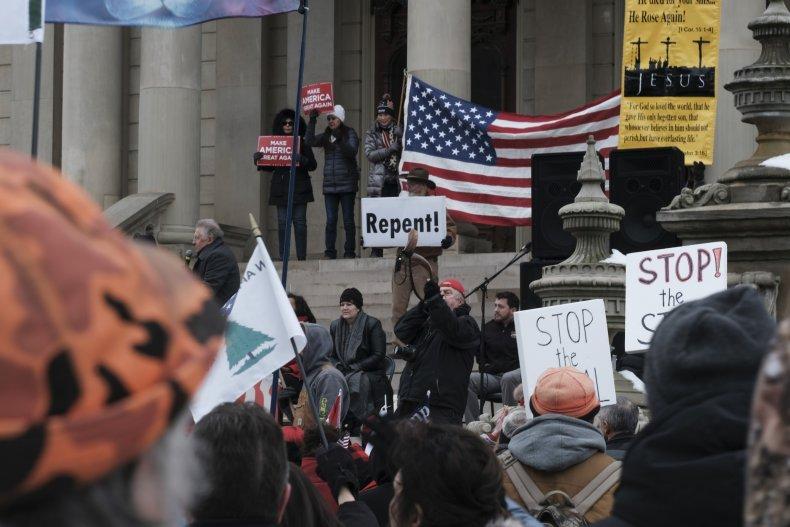 Michigan Capitol protest