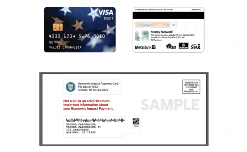 EIP Stimulus Payment Cards