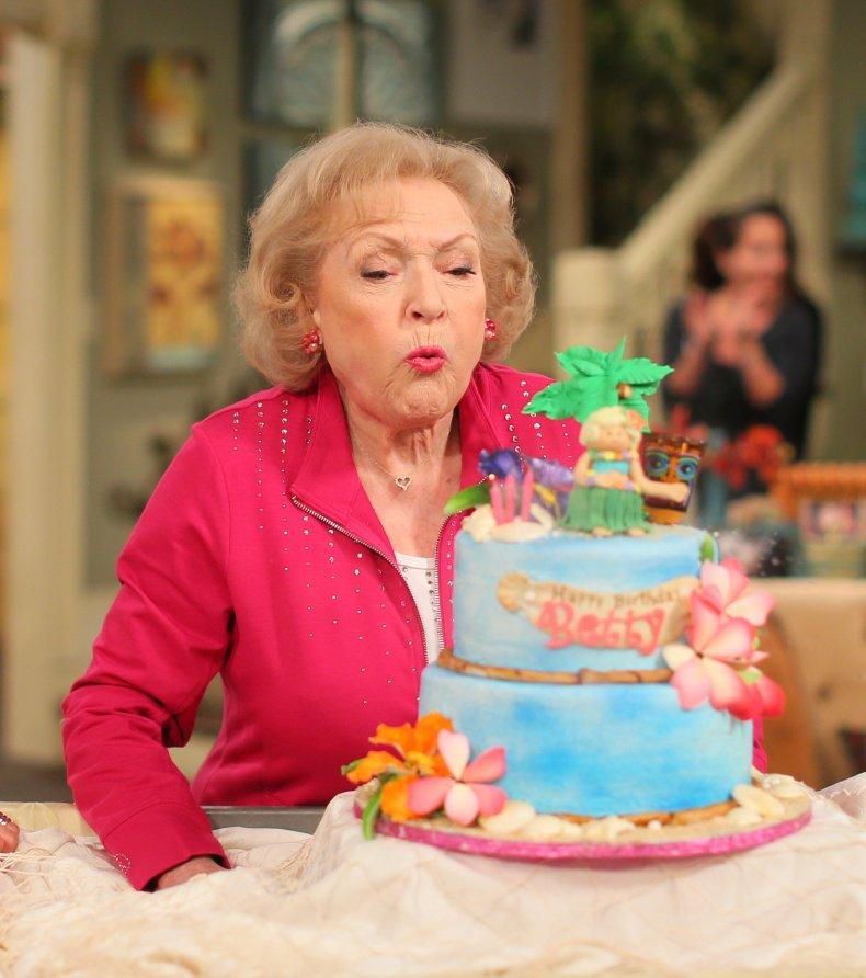 Betty White Birthday