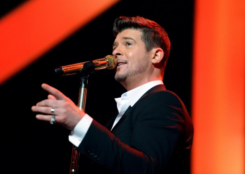 'Blurred Lines' by Robin Thicke
