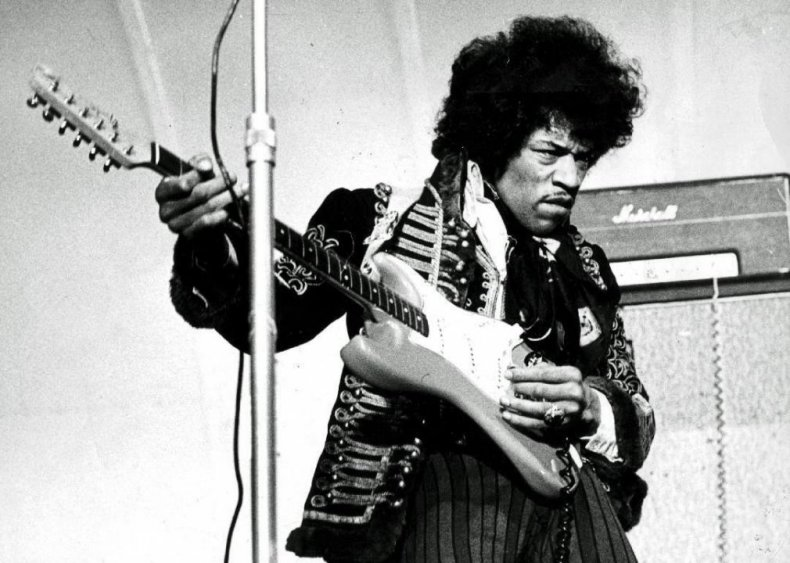 'Purple Haze' by Jimi Hendrix