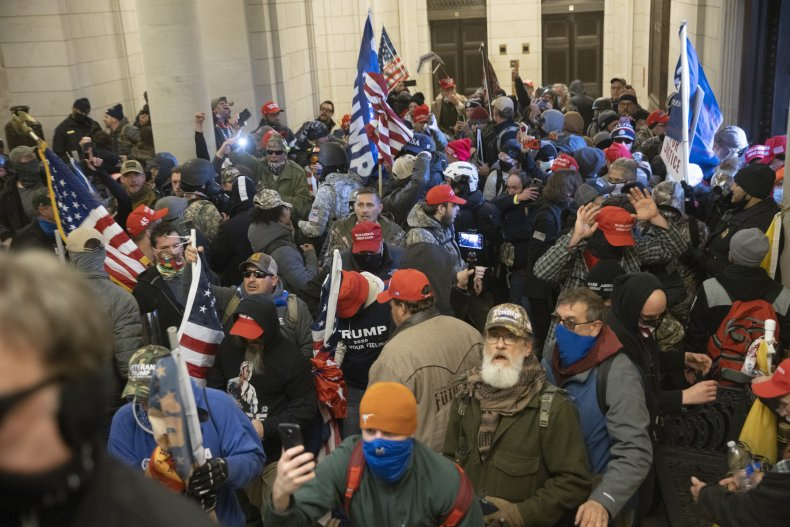 capitol riots tim gionet arrest warrant