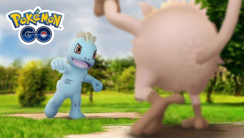 pokemon go machop community day