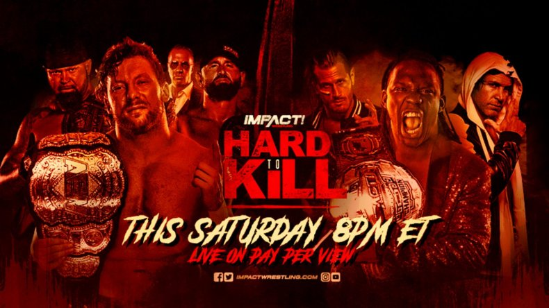 impact wrestling hard to kill 2021 omega