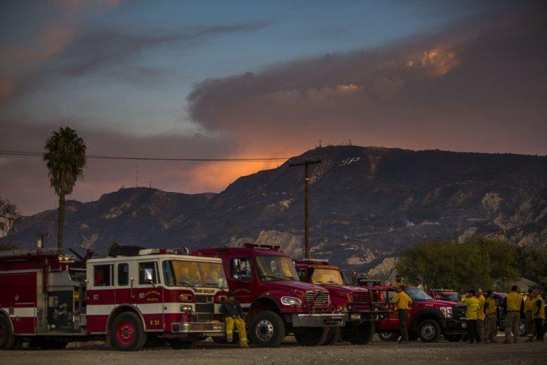 California Maria Fire Ventura County 2019