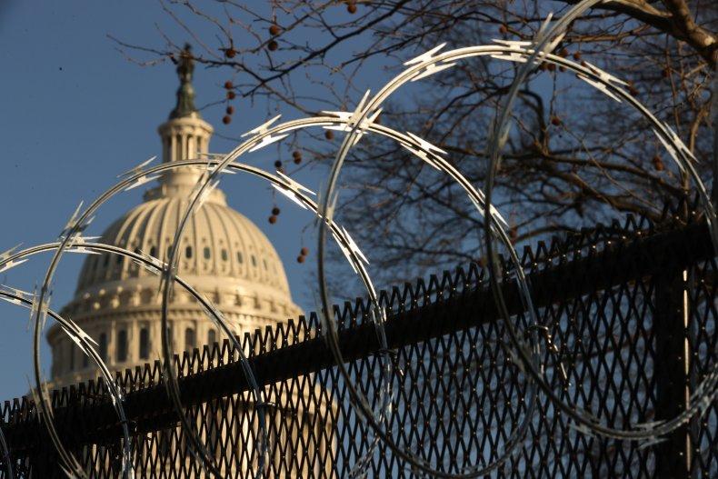 Concertina Razor Wire at the U.S. Capitol