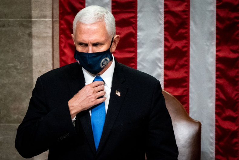 VP Mike Pence at Capitol Building