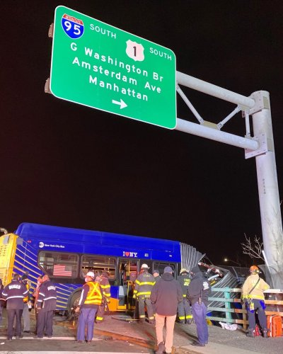 NYC Bronx bus crash