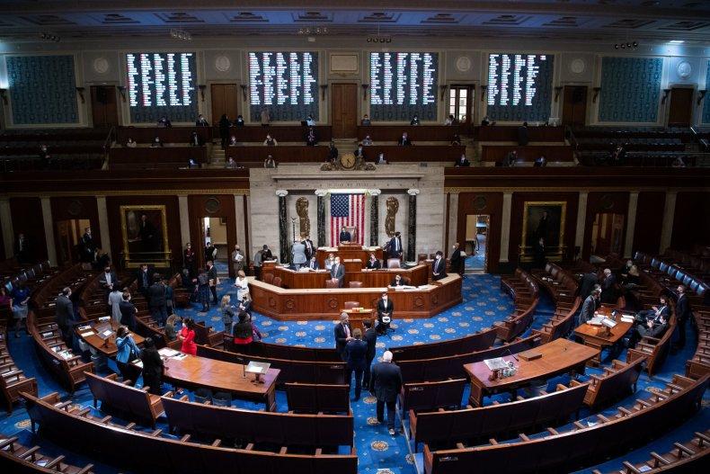 House Capitol impeachment vote January 2020