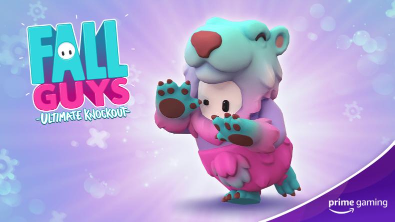 fall guys slushie bear prime gaming