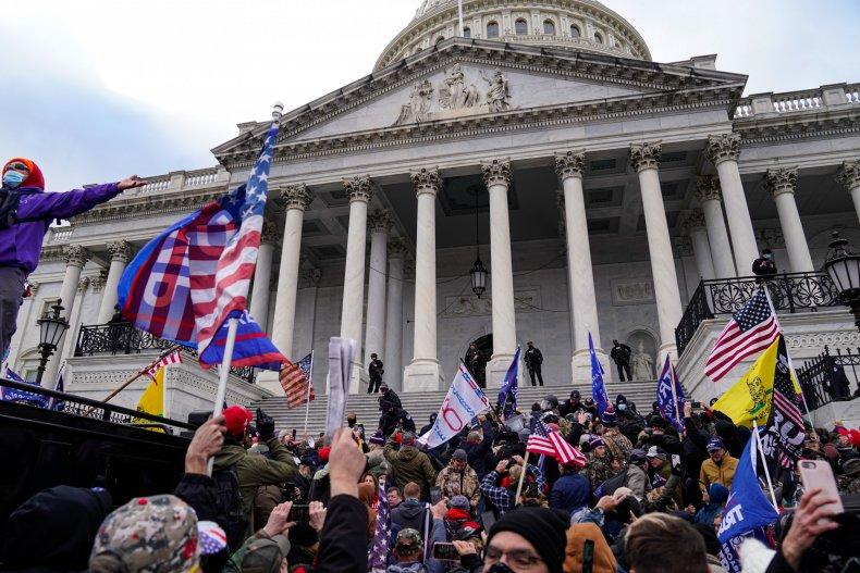 capitol riot inauguration travel ban