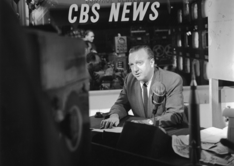 News coverage of the JFK assassination