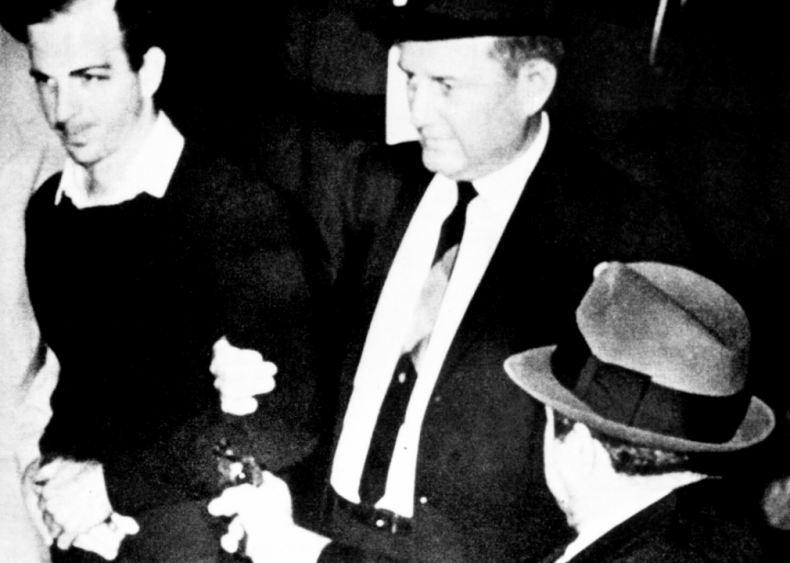 Jack Ruby kills Lee Harvey Oswald