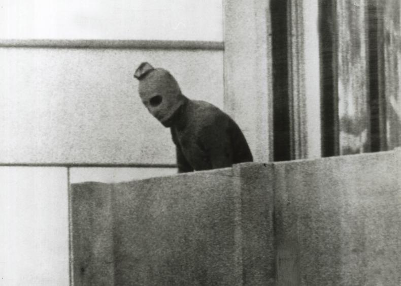 Terrorism strikes the Munich Olympics