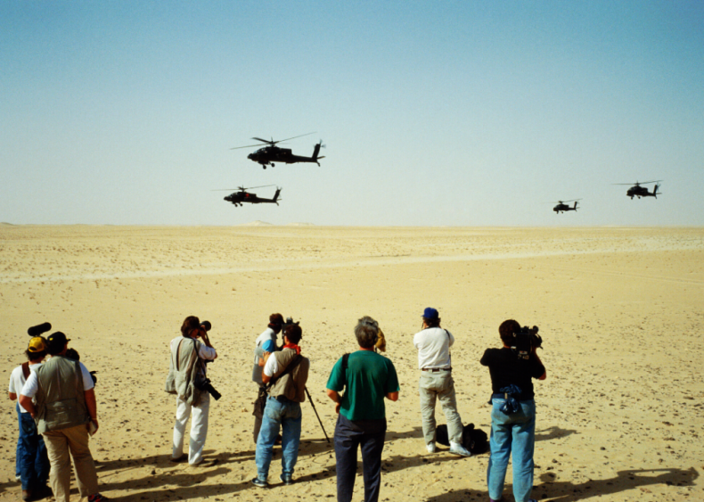 The Gulf War news coverage